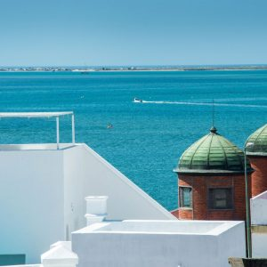 Cubic rooftops Olhao